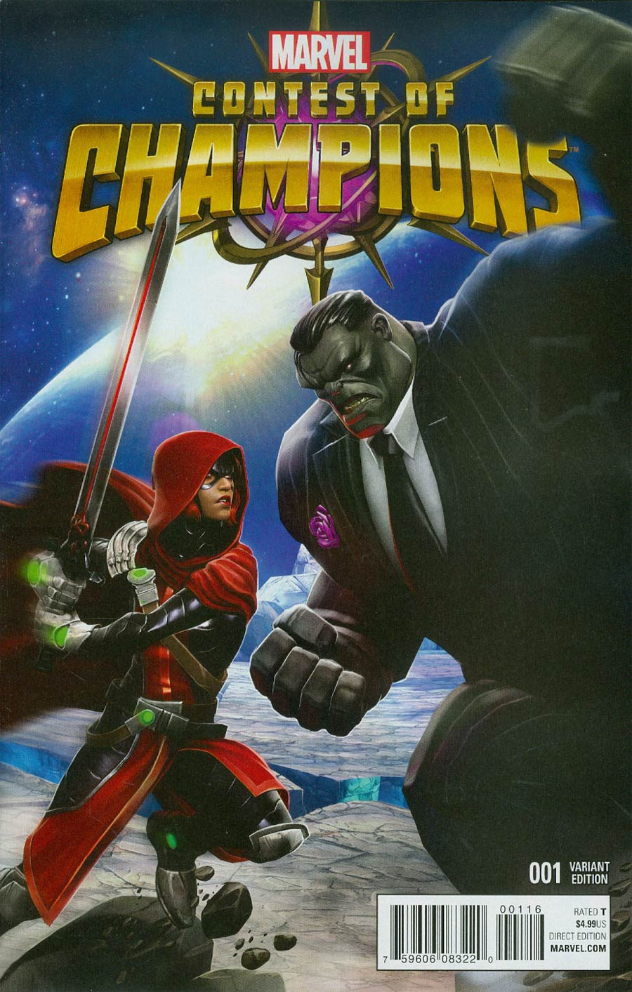 Contest Of Champions Vol 3 #1 Cover H Incentive Contest Of Champions Game Variant Cover
