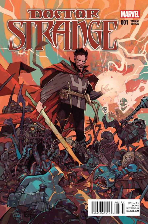 Doctor Strange Vol 4 #1 Cover I Incentive Tom Palmer Variant Cover