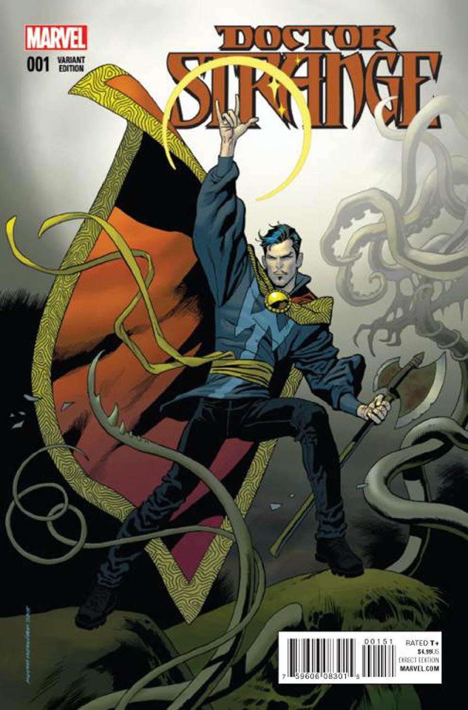 Doctor Strange Vol 4 #1 Cover J Incentive Kevin Nowlan Variant Cover