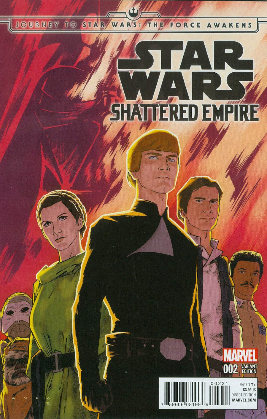 Journey To Star Wars Force Awakens Shattered Empire #2 Cover B Incentive Variant Cover