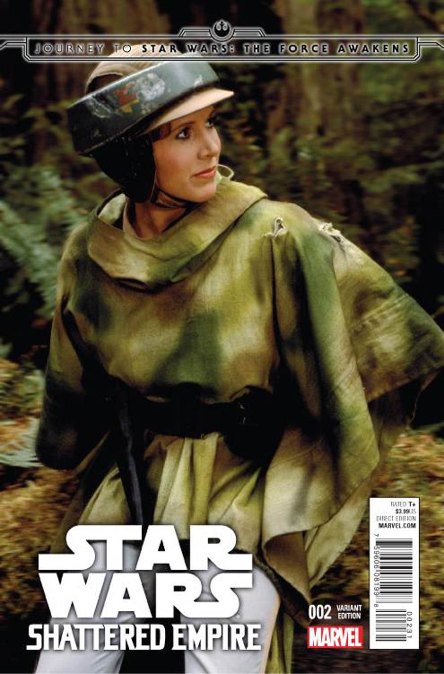 Journey To Star Wars Force Awakens Shattered Empire #2 Cover C Incentive Movie Variant Cover