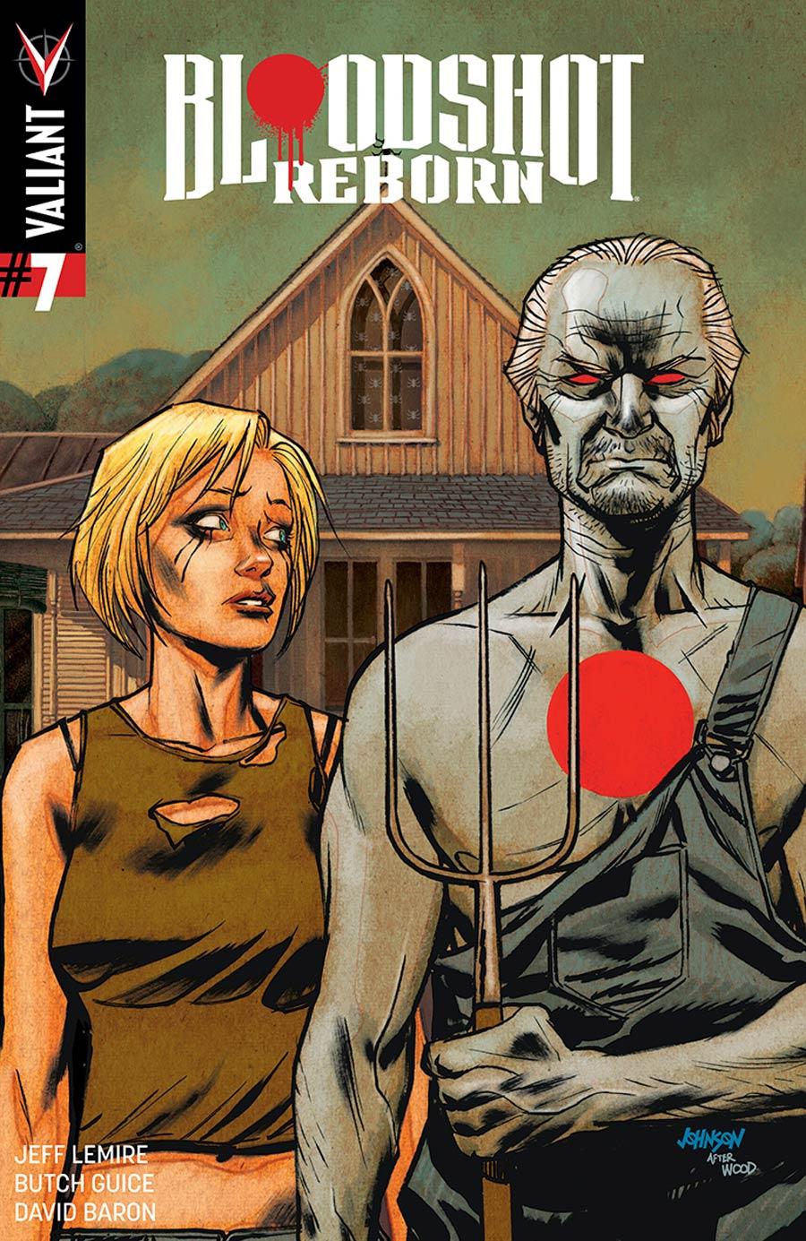 Bloodshot Reborn #7 Cover D Incentive Dave Johnson Variant Cover