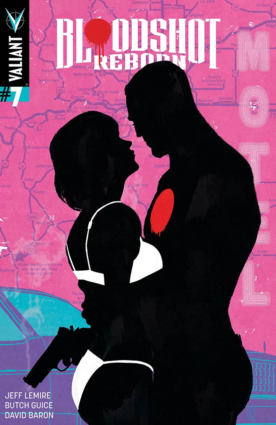 Bloodshot Reborn #7 Cover E Incentive Kano Variant Cover