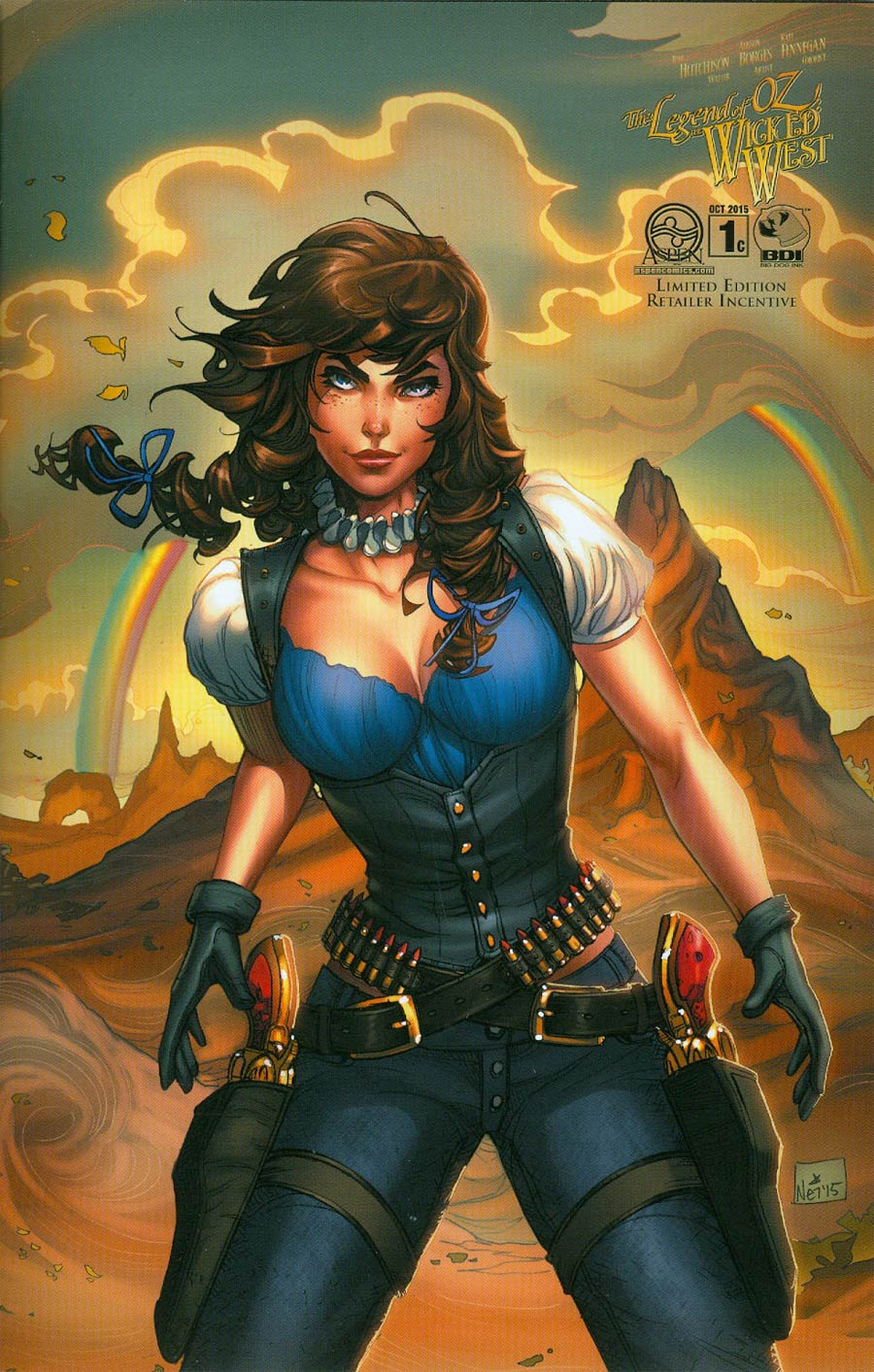 Legend Of Oz The Wicked West Vol 3 #1 Cover C Incentive Nei Ruffino Variant Cover