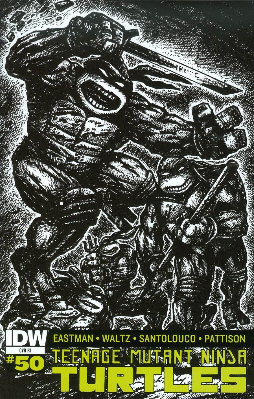 Teenage Mutant Ninja Turtles Vol 5 #50 Cover E Incentive Jack Kirby & Kevin Eastman Variant Cover
