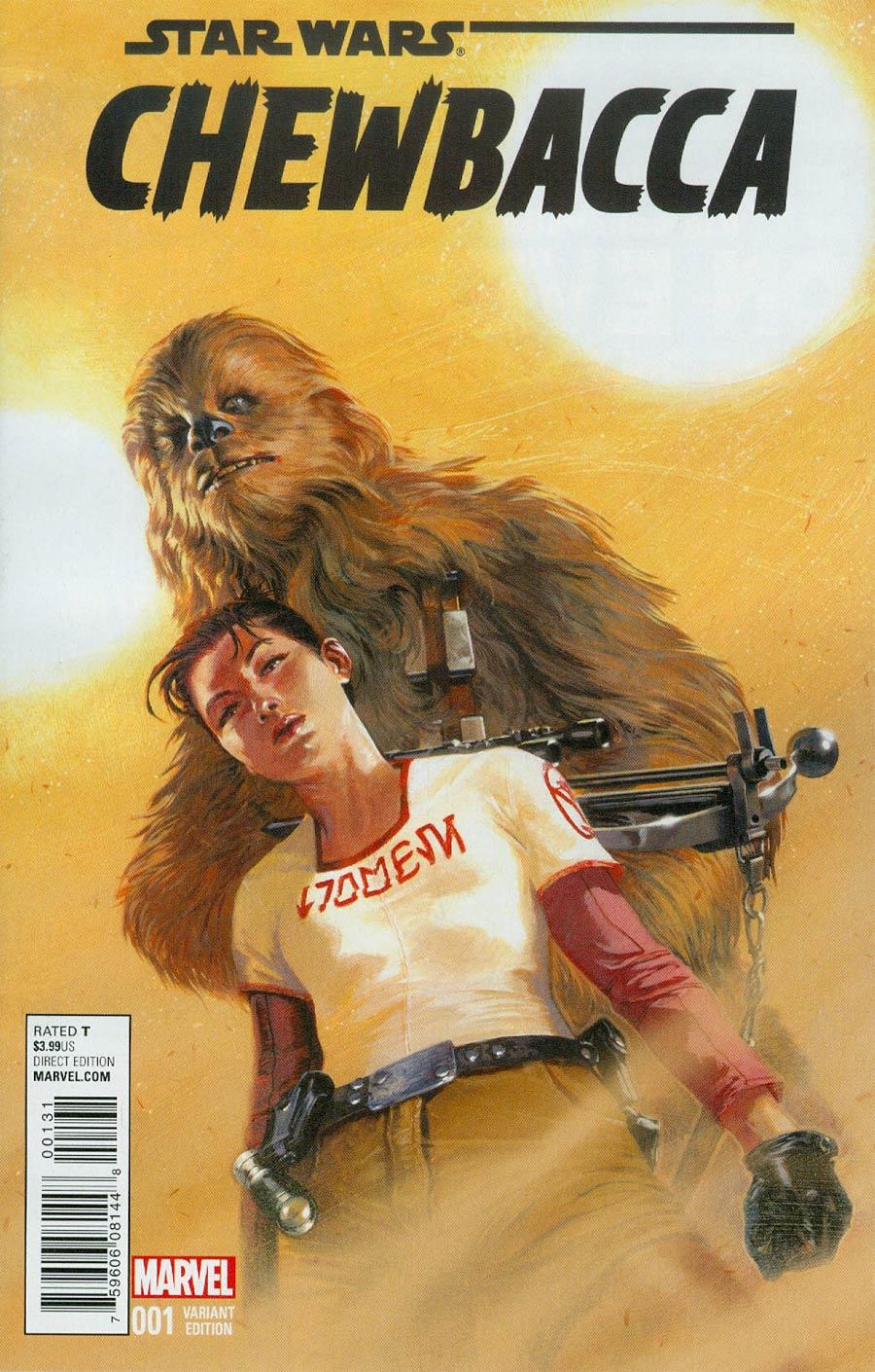 Chewbacca #1 Cover E Incentive Gabriele Dell Otto Variant Cover