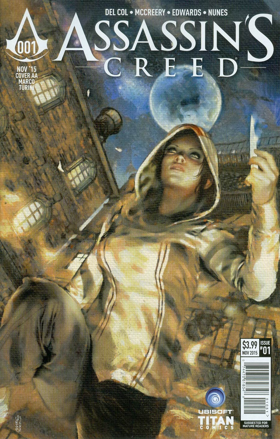Assassins Creed #1 Cover F Variant Marco Turini Cover