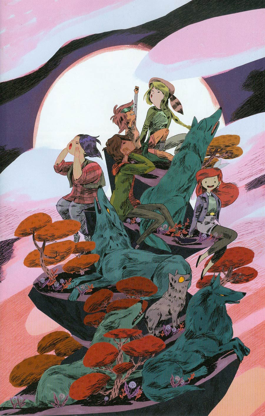 Lumberjanes Beyond Bay Leaf #1 Cover B Incentive Eva Eskelinen Virgin Variant Cover