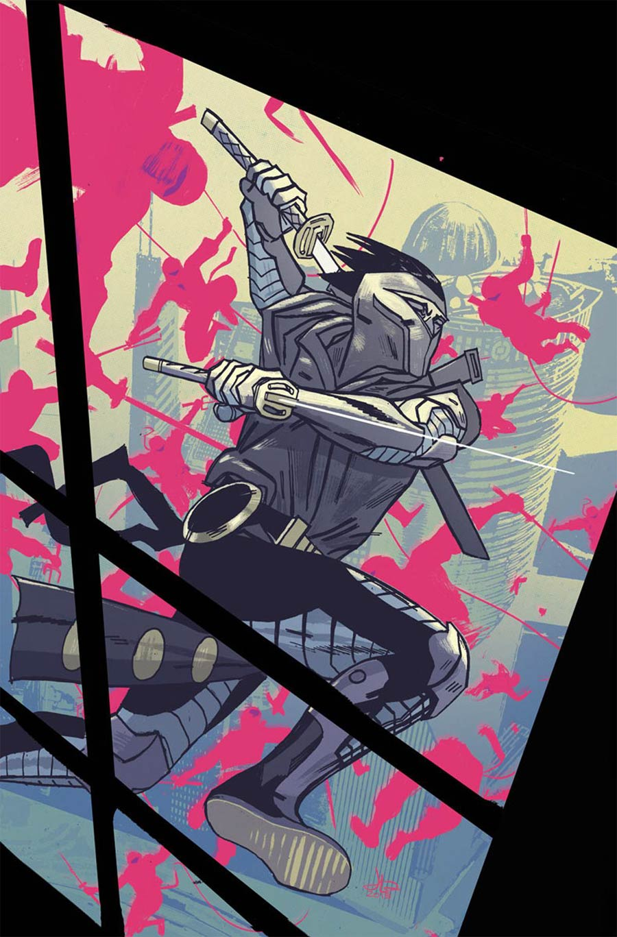 Ninjak Vol 3 #8 Cover D Incentive Jason Latour Variant Cover