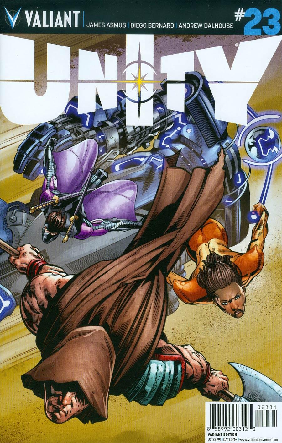 Unity Vol 2 #23 Cover C Incentive Scot Eaton Variant Cover