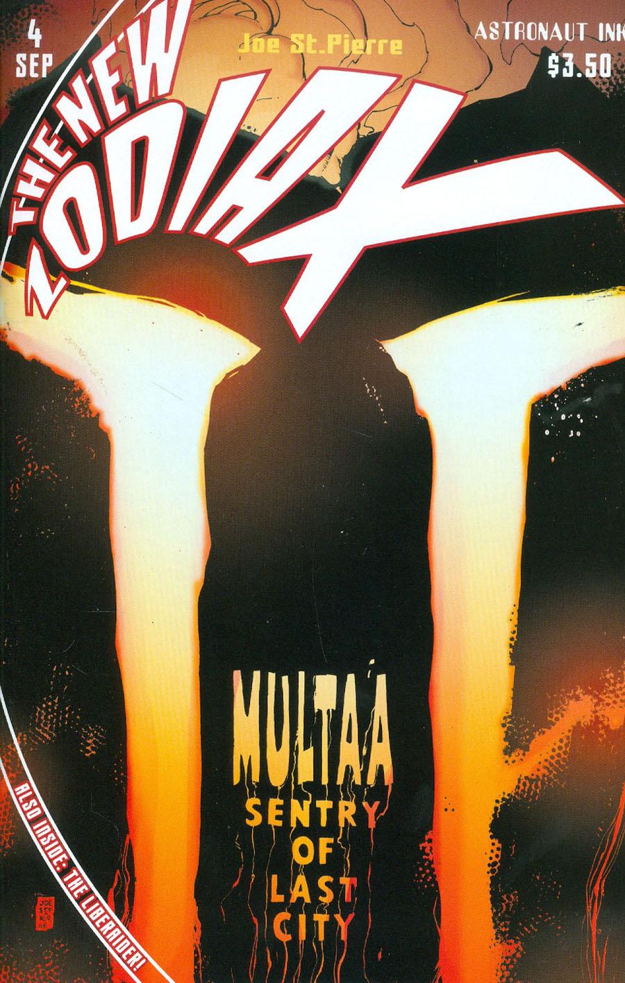 New Zodiax #4 Cover A Joe St. Pierre Multaa