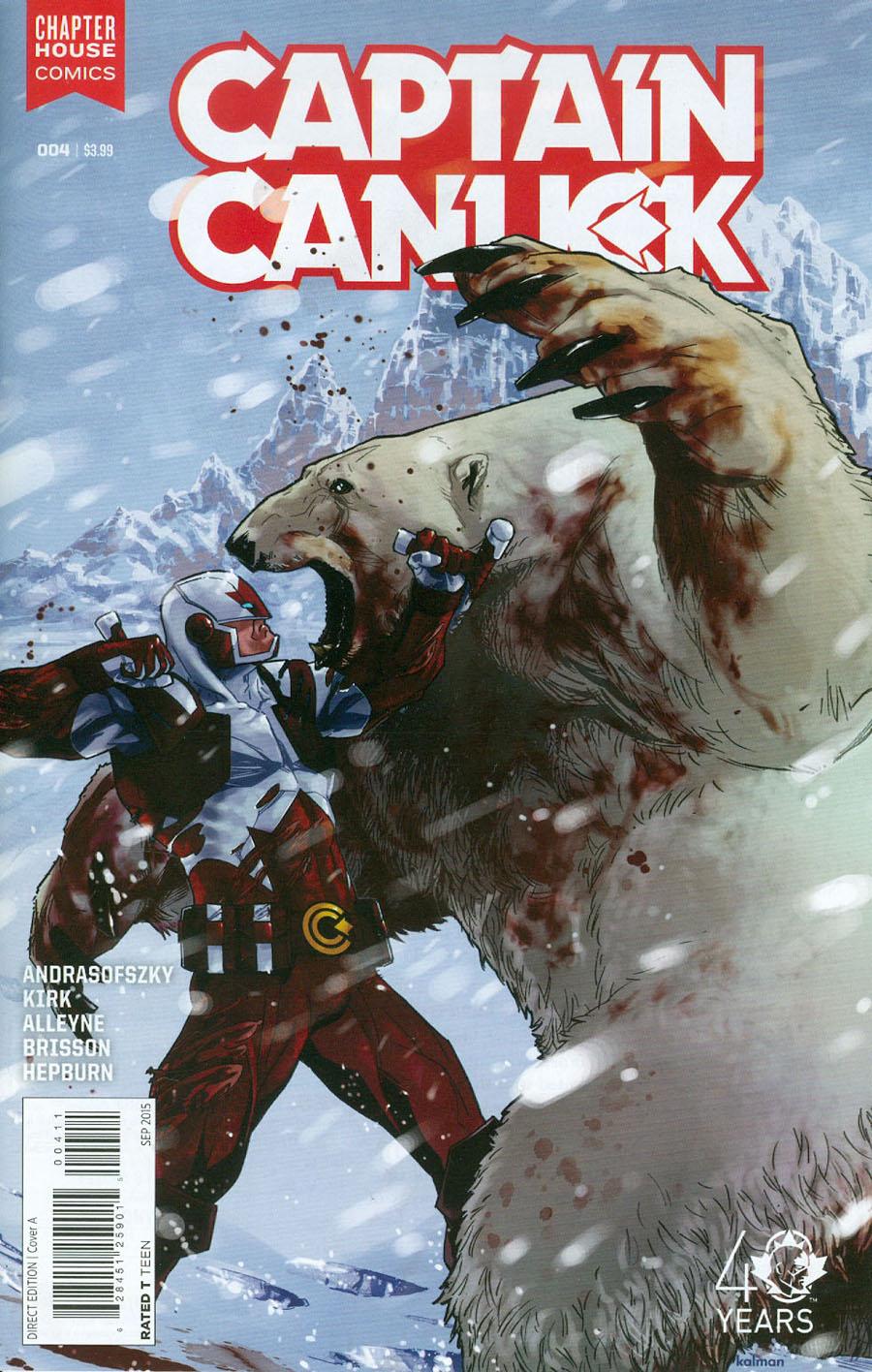 Captain Canuck Vol 2 #4 Cover A Regular Kalman Andrasofszky Cover