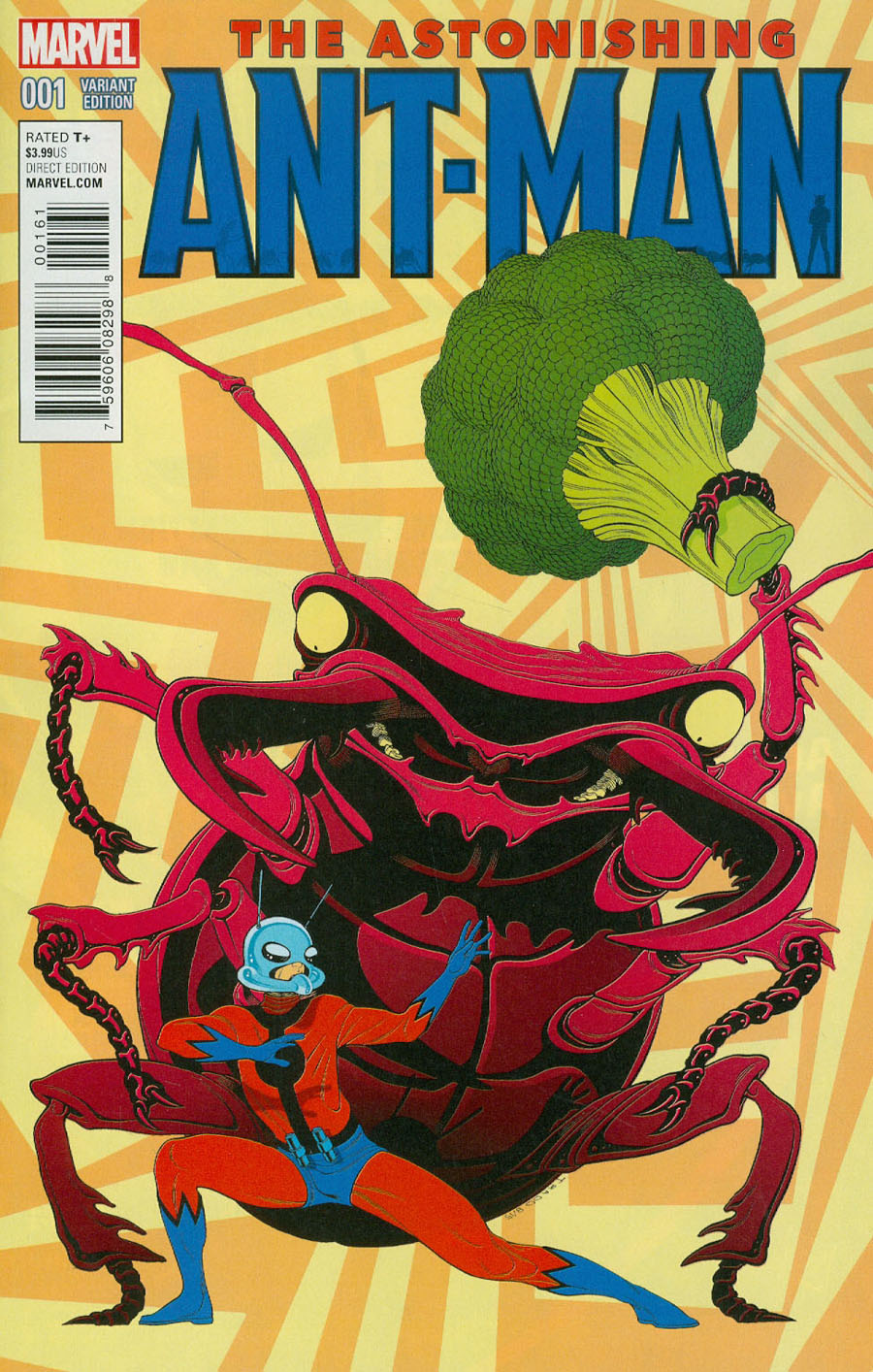 Astonishing Ant-Man #1 Cover E Incentive Tradd Moore Kirby Monster Variant Cover