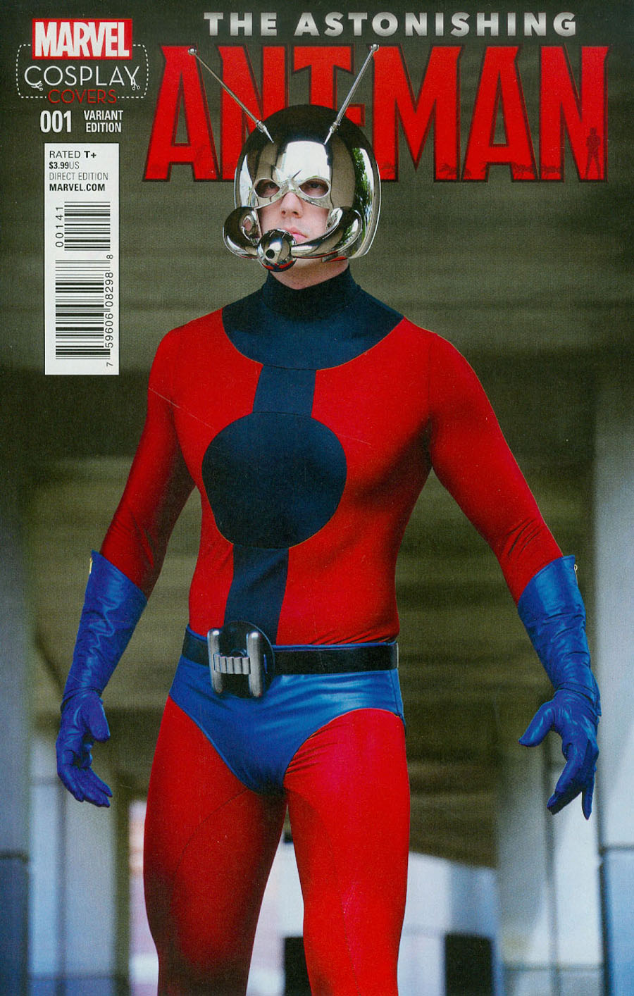 Astonishing Ant-Man #1 Cover F Incentive Cosplay Variant Cover