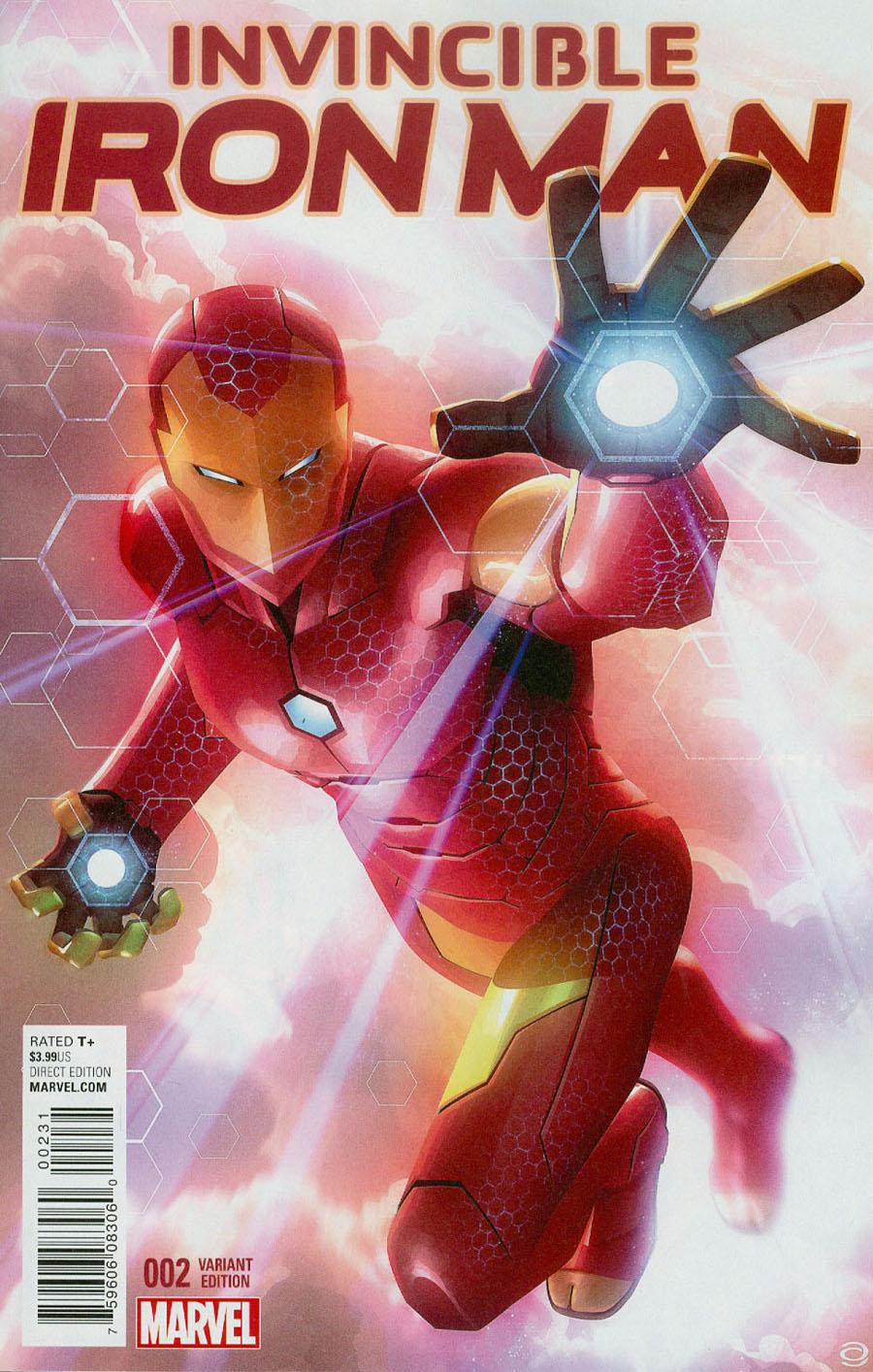 Invincible Iron Man Vol 2 #2 Cover C Incentive Alex Garner Variant Cover