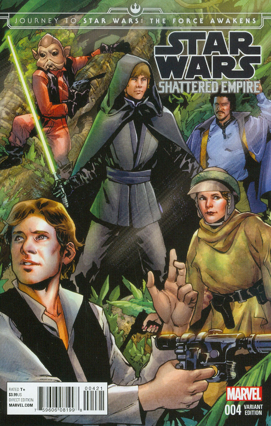 Journey To Star Wars Force Awakens Shattered Empire #4 Cover B Incentive Sara Pichelli Variant Cover