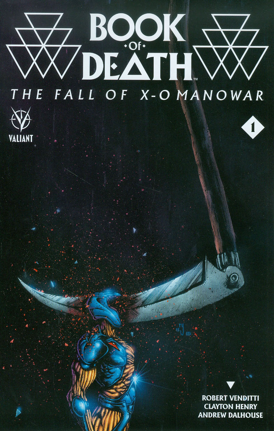 Book Of Death Fall Of X-O Manowar #1 Cover C Incentive Ryan Lee Variant Cover