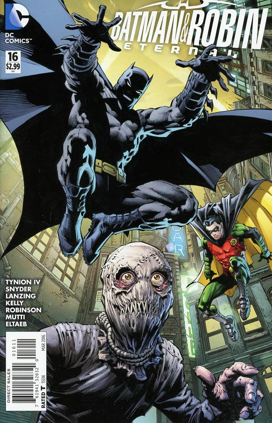 Batman And Robin Eternal #16