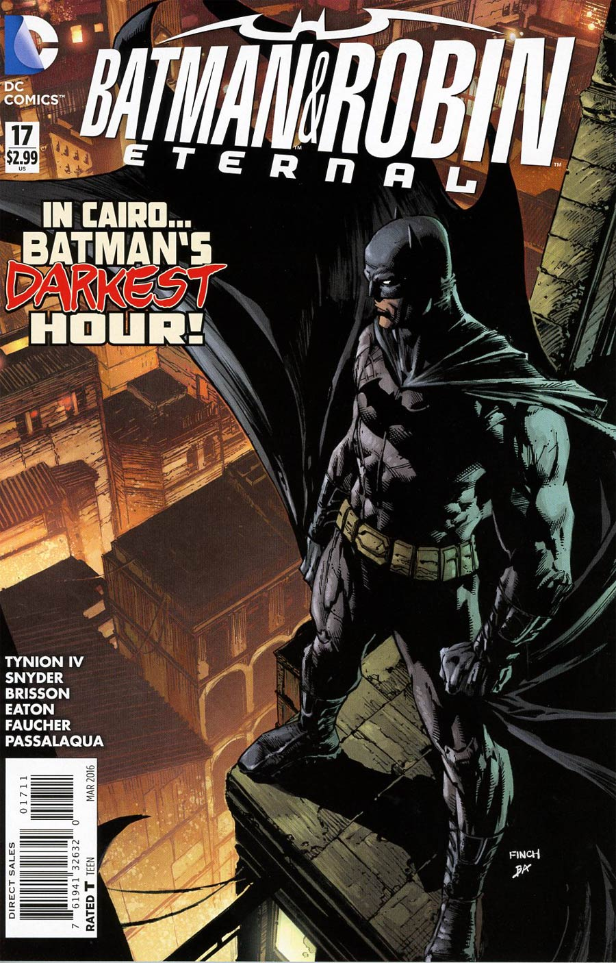 Batman And Robin Eternal #17