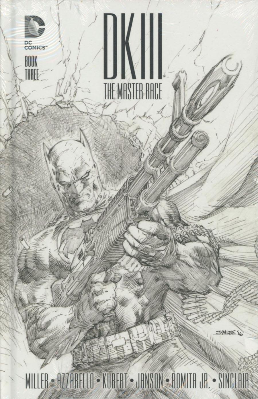 Dark Knight III The Master Race #3 Cover E Collectors Edition HC
