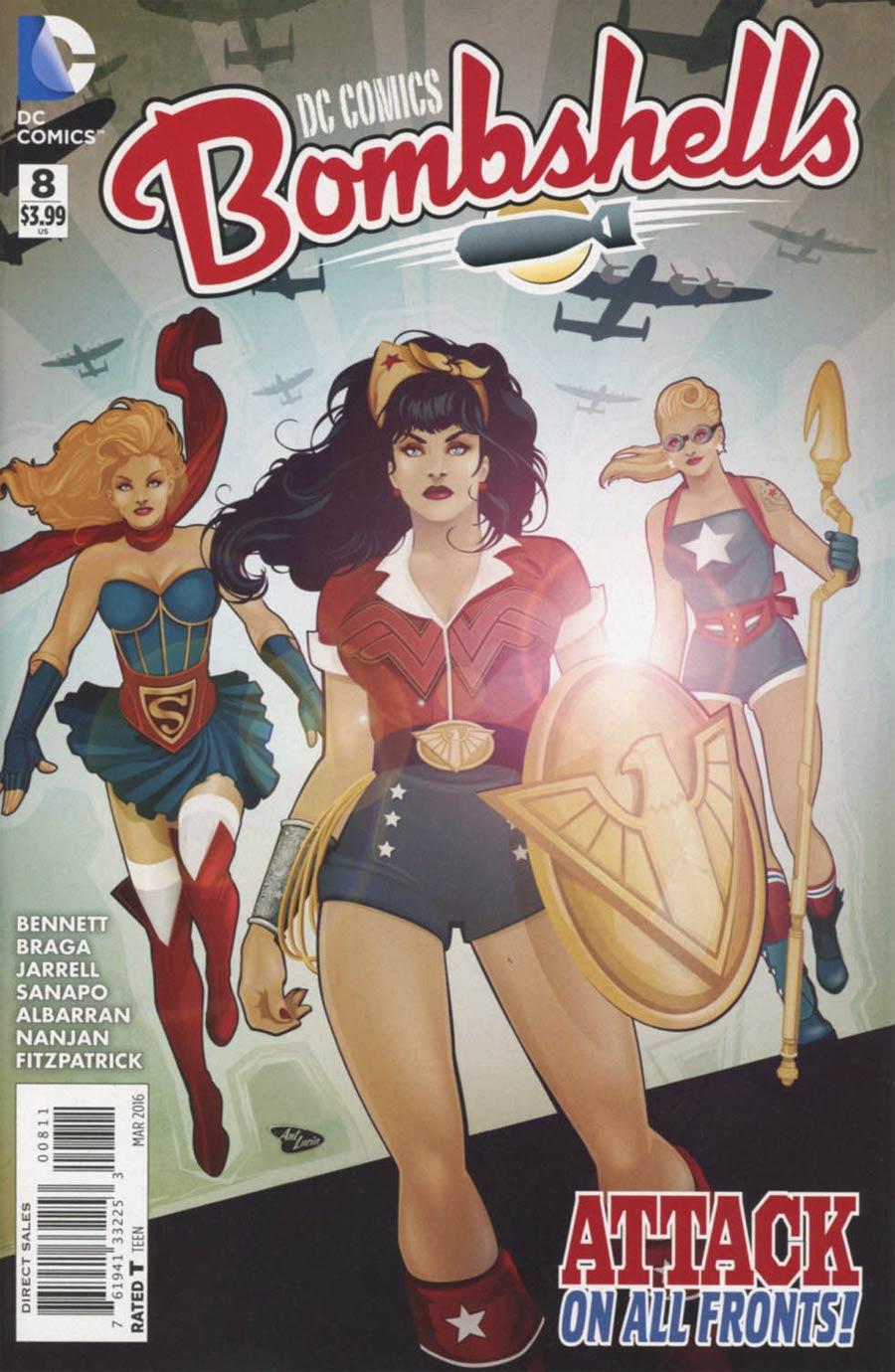 DC Comics Bombshells #8