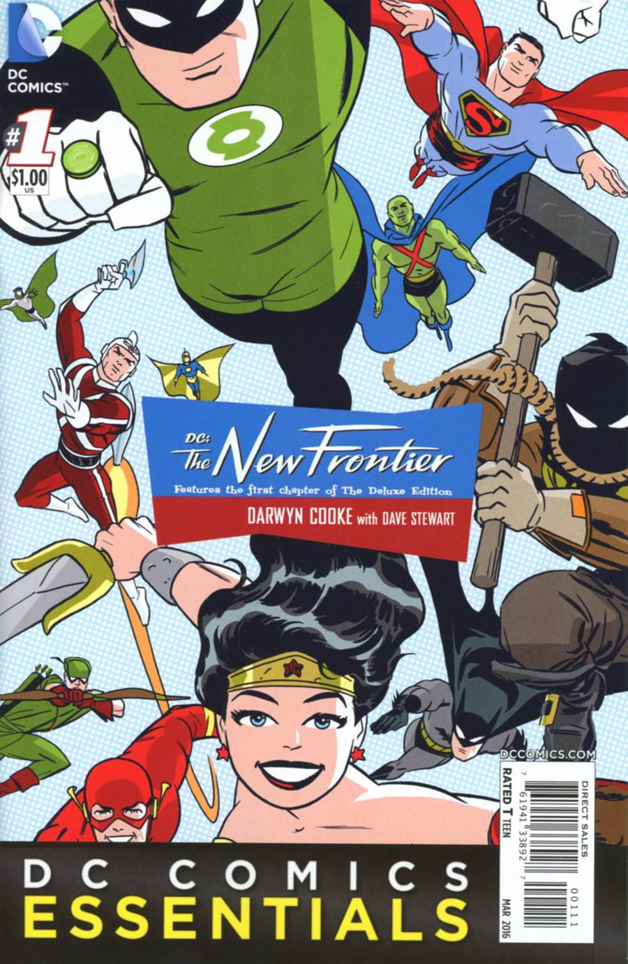 DC Essentials DC The New Frontier #1