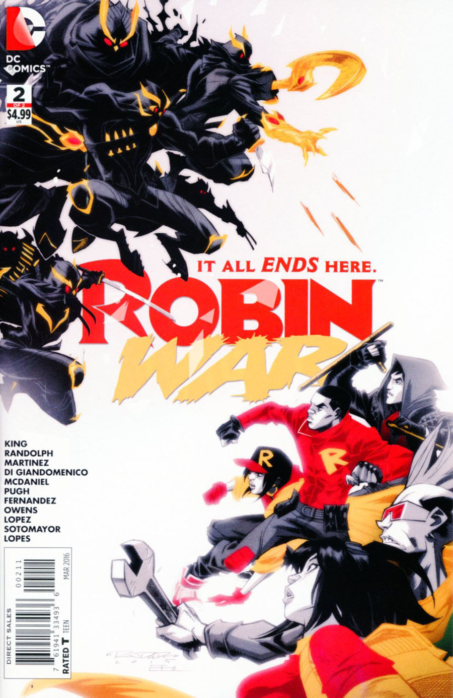 Robin War #2 Cover A Regular Khary Randolph Cover (Robin War Part 6)