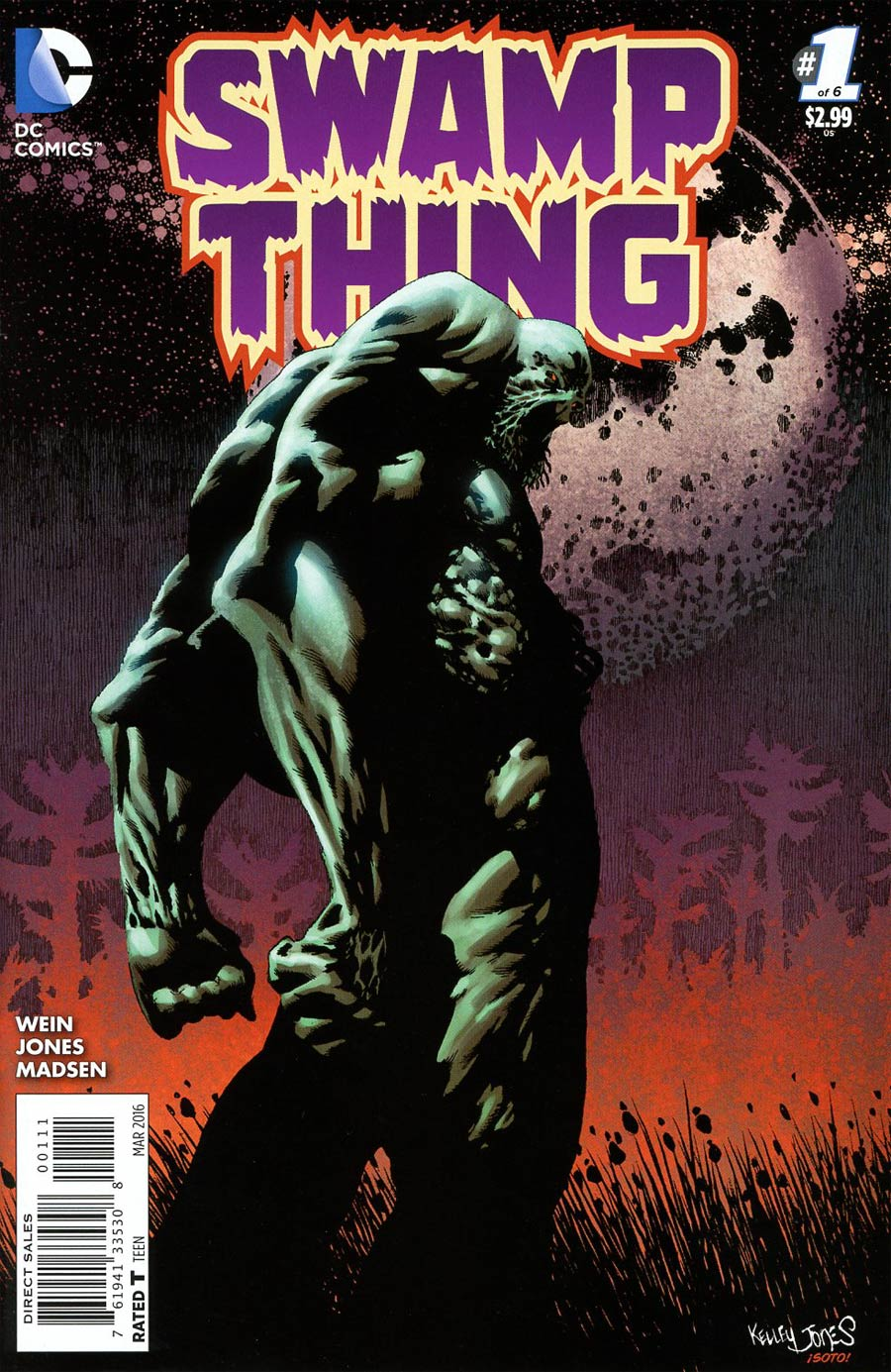 Swamp Thing Vol 6 #1 Cover A Regular Kelley Jones Cover