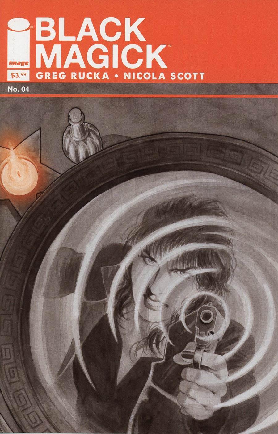 Black Magick #4 Cover A Nicola Scott