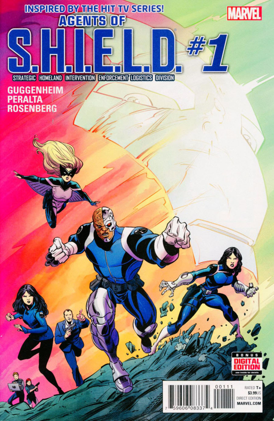 Agents Of S.H.I.E.L.D. #1 Cover A Regular Mike Norton Cover