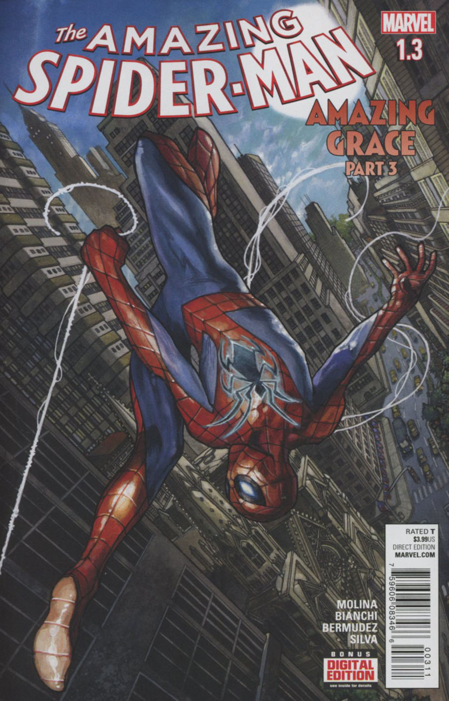 Amazing Spider-Man Vol 4 #1.3 Cover A 1st Ptg Regular Simone Bianchi Cover