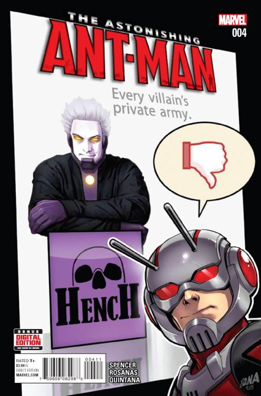 Astonishing Ant-Man #4 Cover A 1st Ptg Regular David Nakayama Cover
