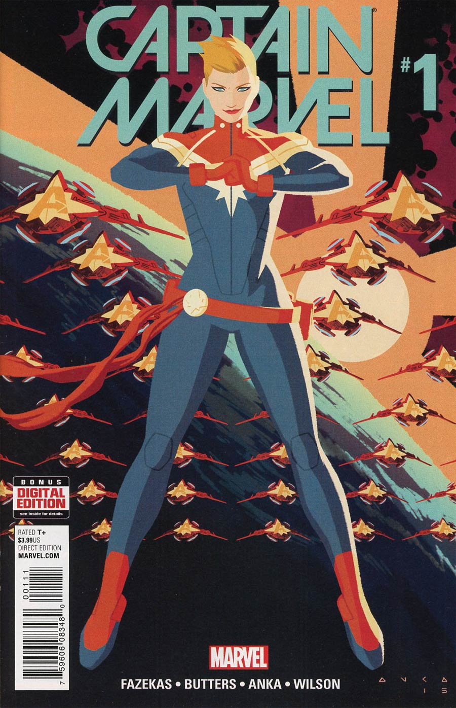 Captain Marvel Vol 8 #1 Cover A 1st Ptg Regular Kris Anka Cover