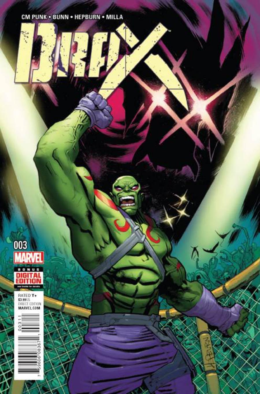 Drax #3 Cover A Regular Scott Hepburn Cover