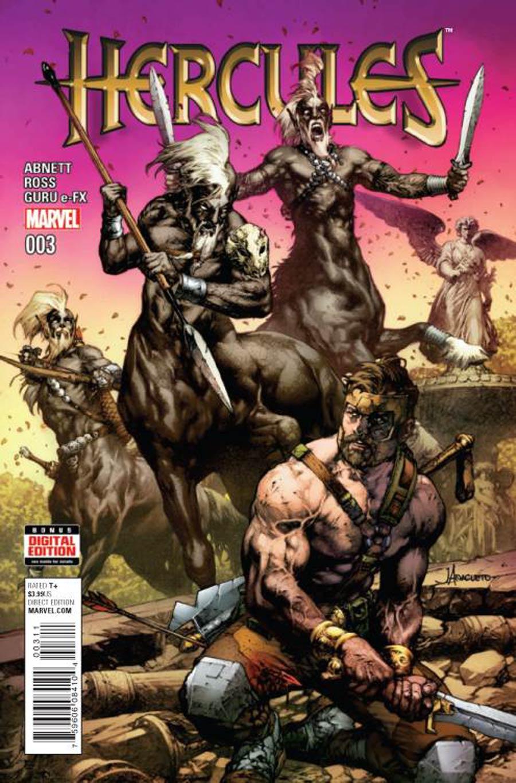 Hercules Vol 4 #3 Cover A Regular Jay Anacleto Cover