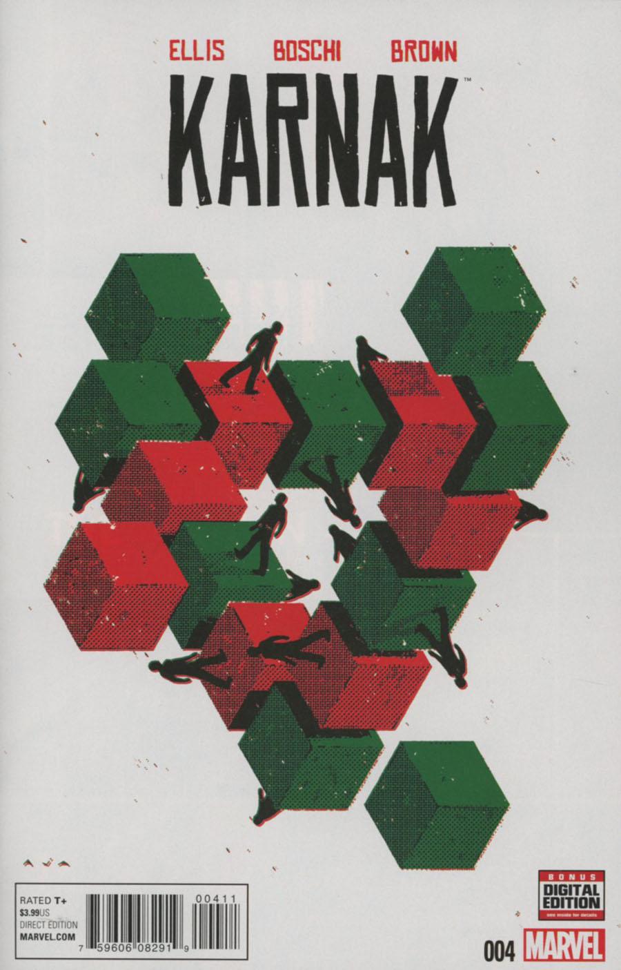 Karnak #4 Cover A Regular David Aja Cover