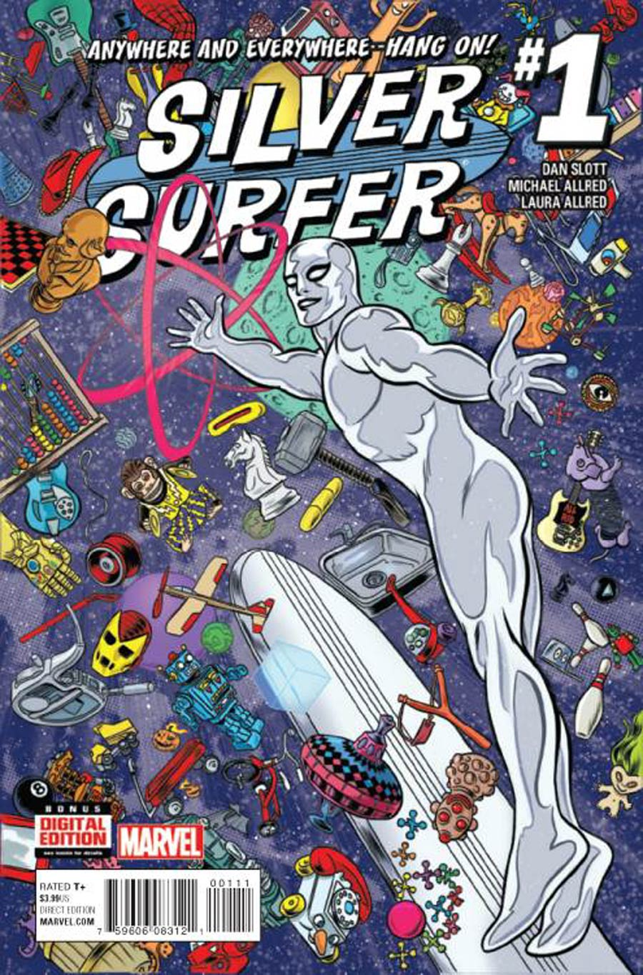 Silver Surfer Vol 7 #1 Cover A Regular Michael Allred Cover