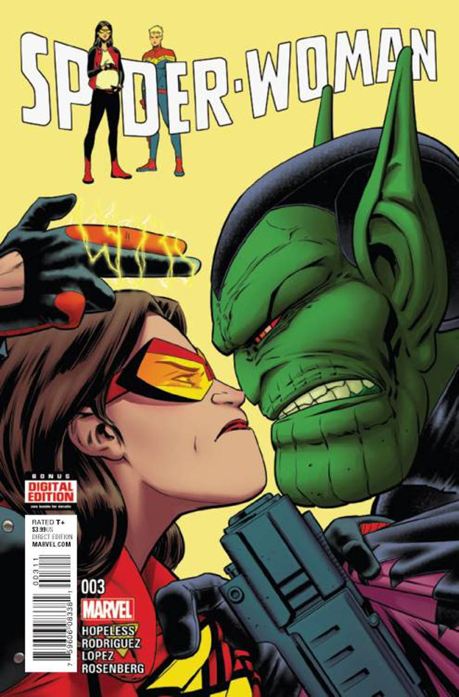 Spider-Woman Vol 6 #3 Cover A Regular Javier Rodriguez Cover