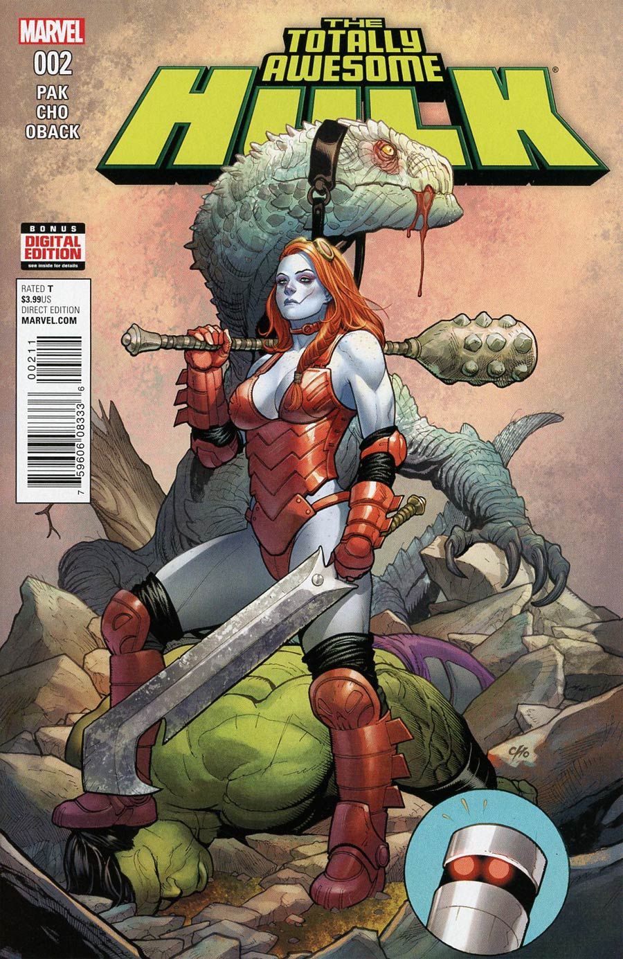 Totally Awesome Hulk #2 Cover A 1st Ptg Regular Frank Cho Cover