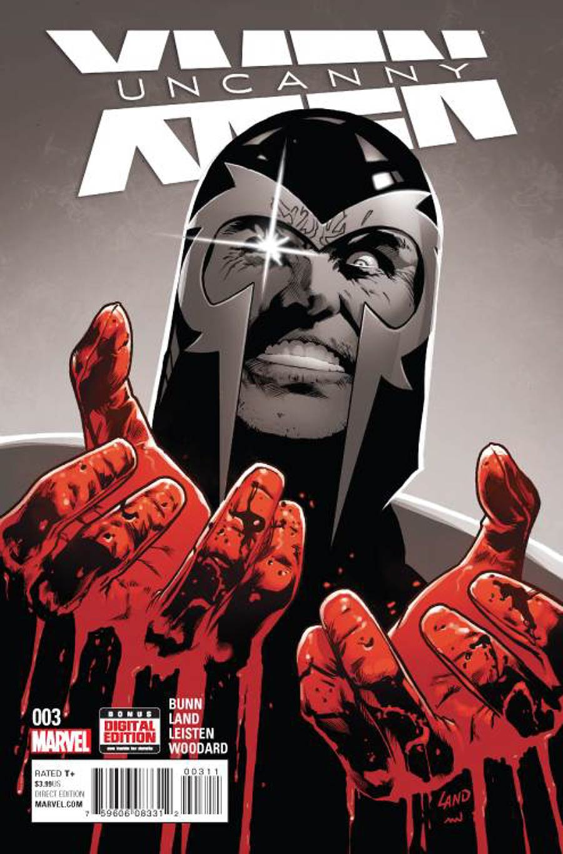 Uncanny X-Men Vol 4 #3 Cover A 1st Ptg Regular Greg Land Cover