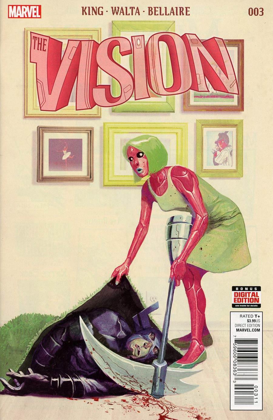 Vision Vol 2 #3 Cover A Regular Mike Del Mundo Cover