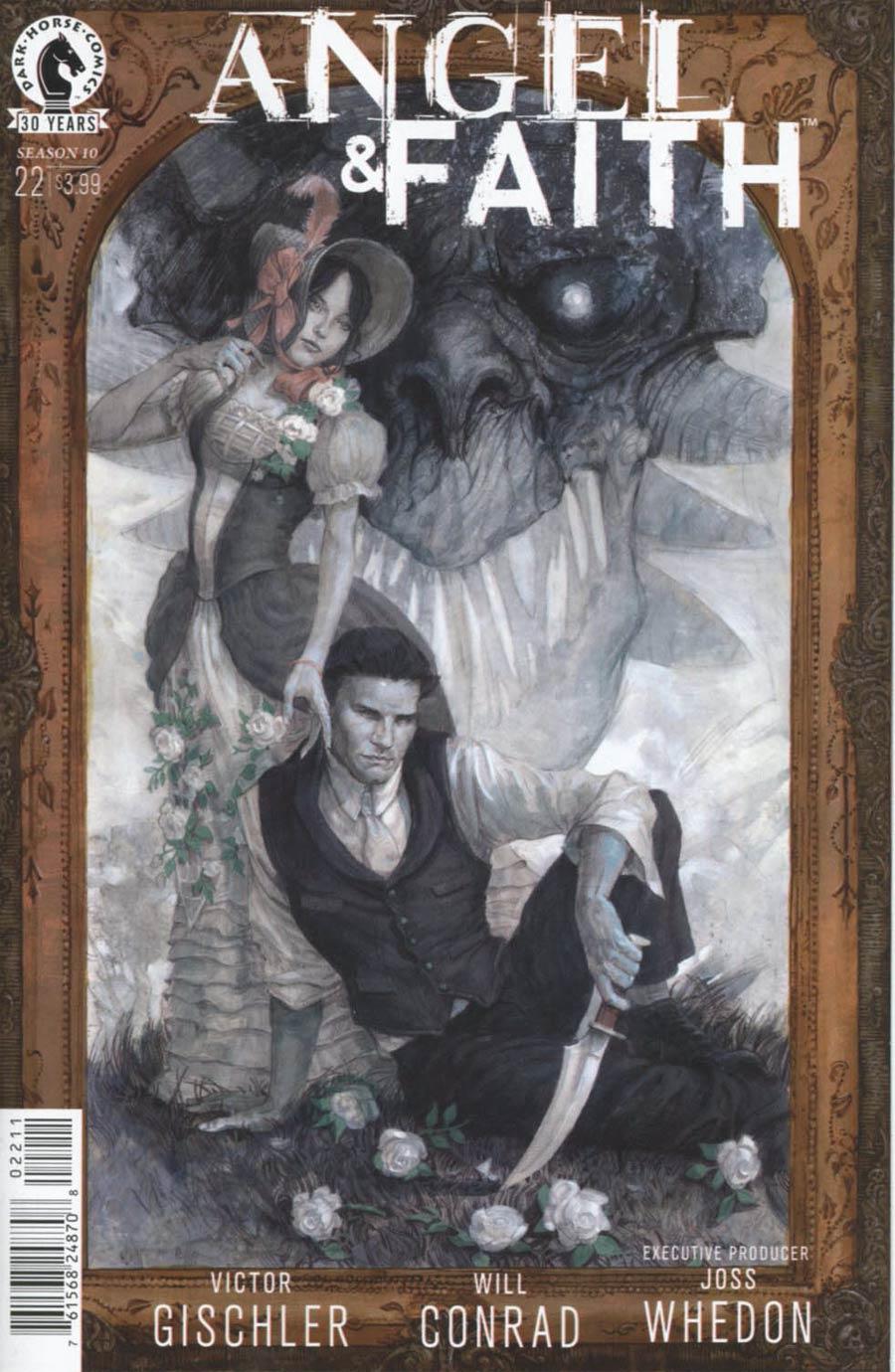 Angel And Faith Season 10 #22 Cover A Regular Scott Fischer Cover