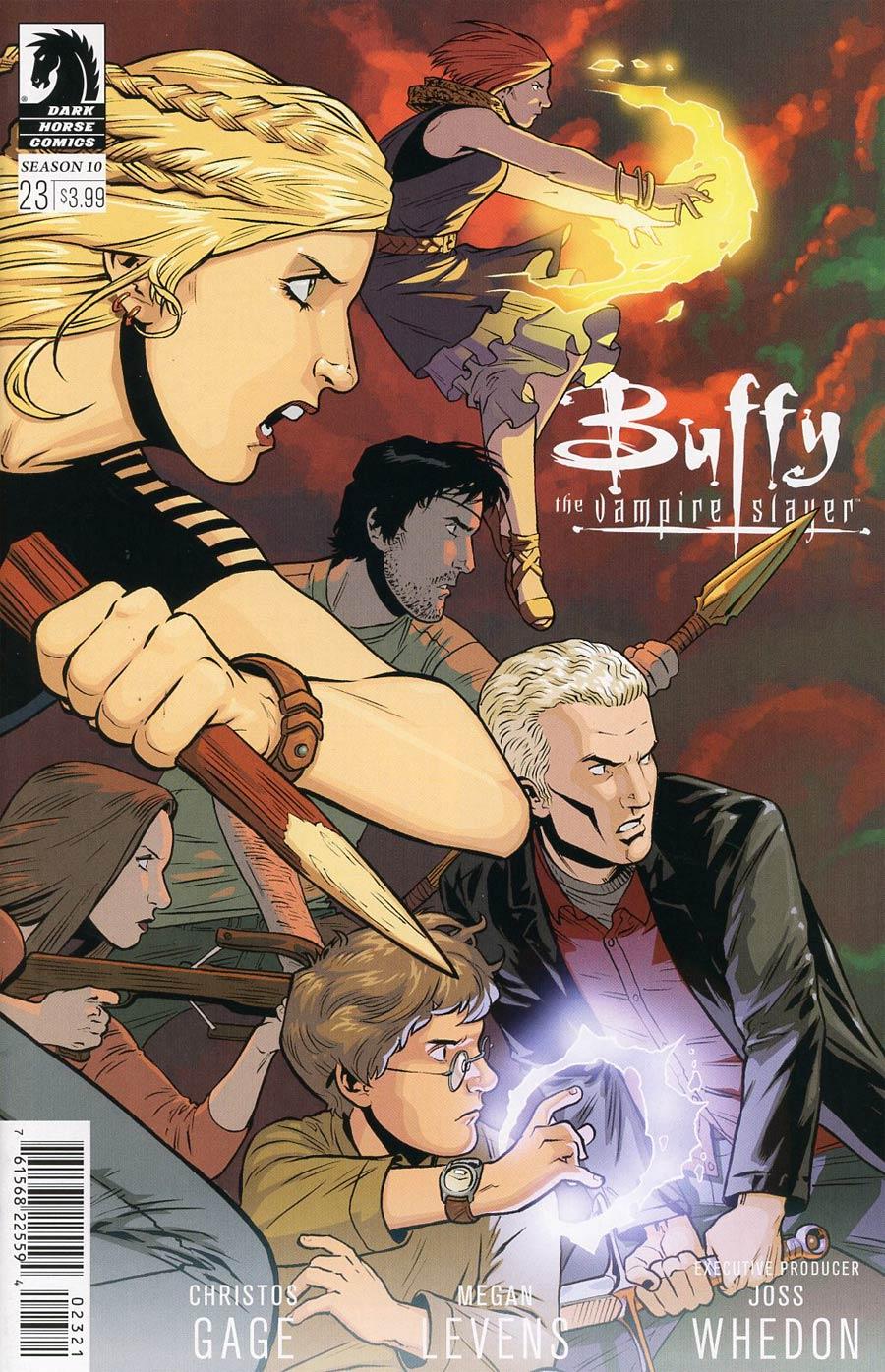 Buffy The Vampire Slayer Season 10 #23 Cover B Variant Rebekah Isaacs Cover