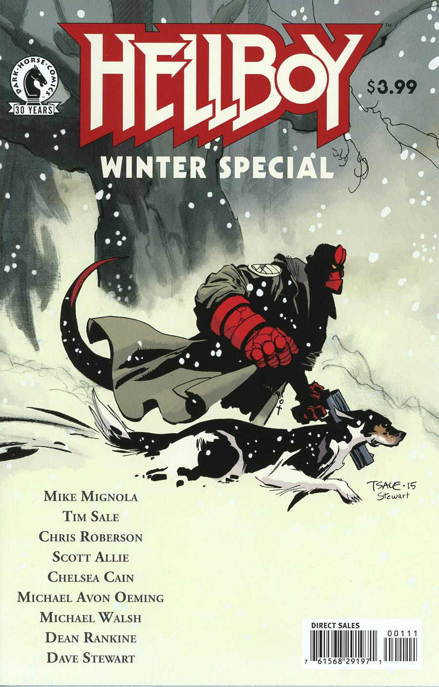 Hellboy Winter Special 2016 #1 Cover A Regular Tim Sale Cover