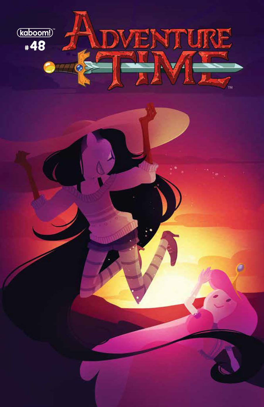 Adventure Time #48 Cover A Regular Maya Kern Cover