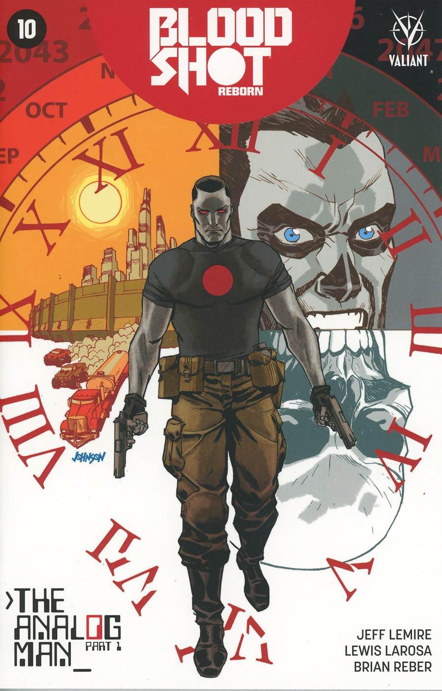 Bloodshot Reborn #10 Cover C Variant Dave Johnson Cover