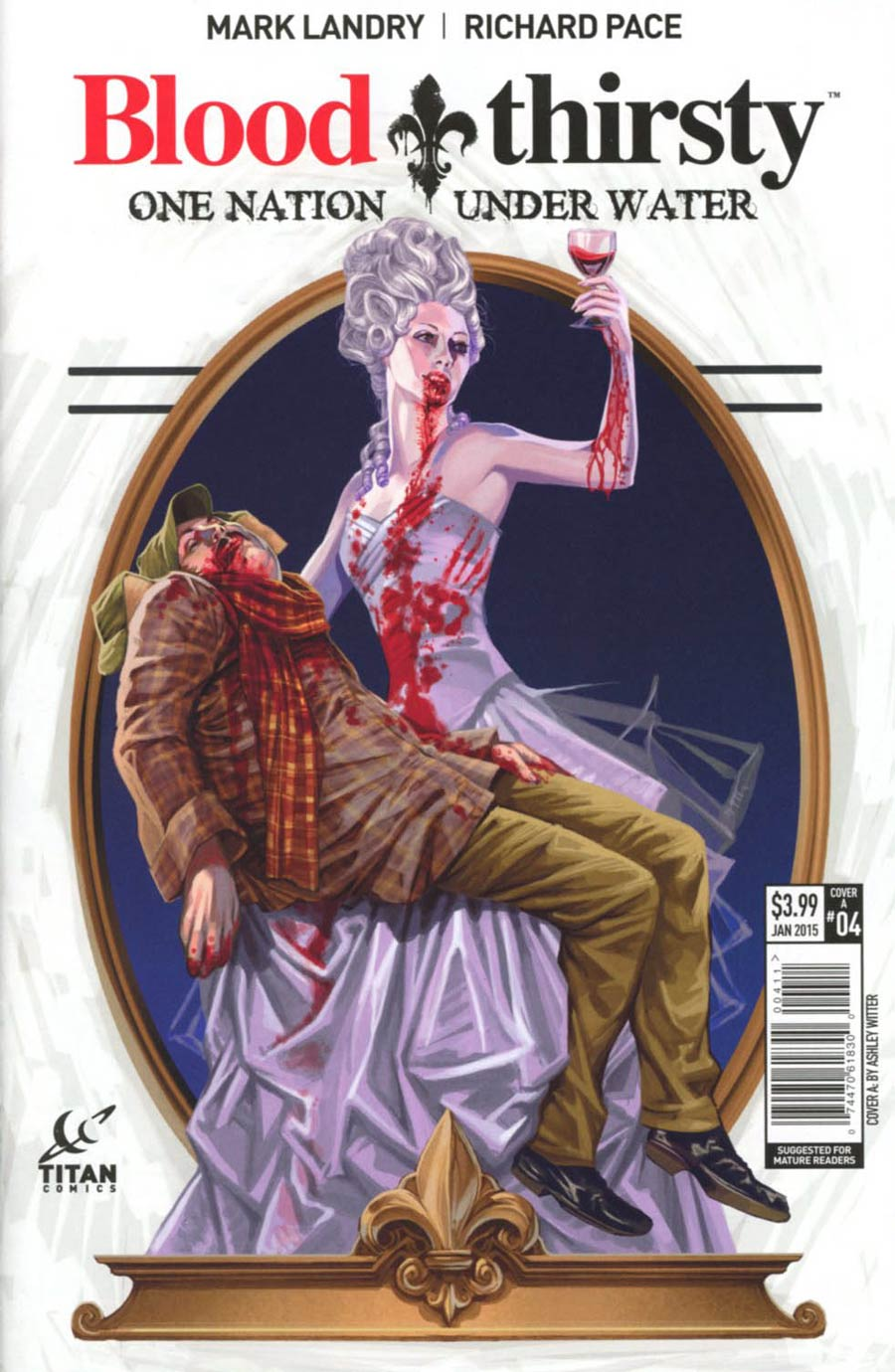 Bloodthirsty One Nation Under Water #4 Cover A Regular Ashley Witter Cover
