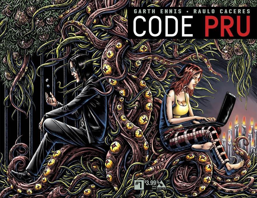Code Pru #1 Cover B Wraparound Cover