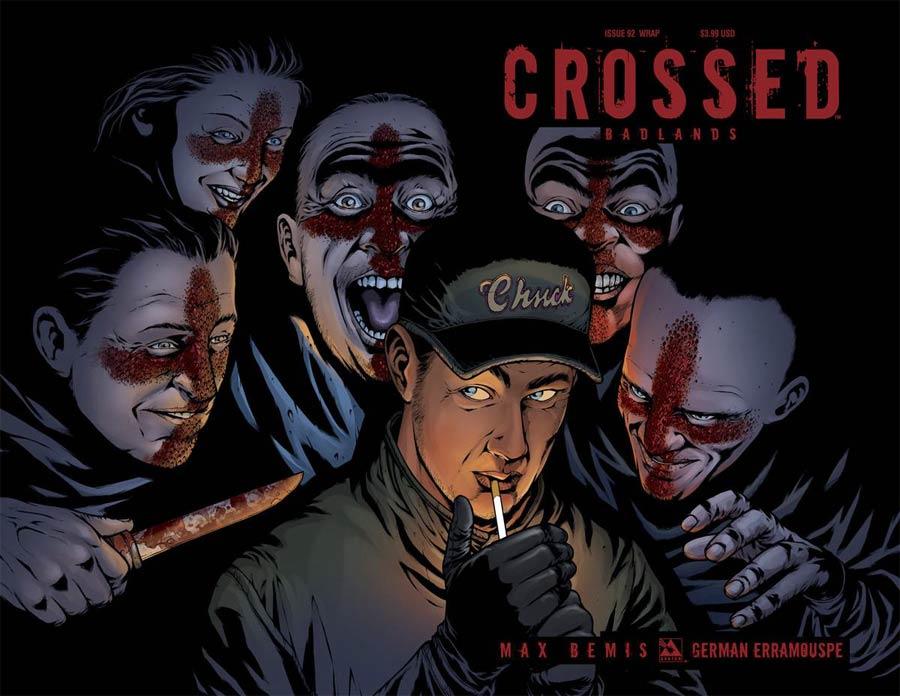 Crossed Badlands #92 Cover C Wraparound Cover