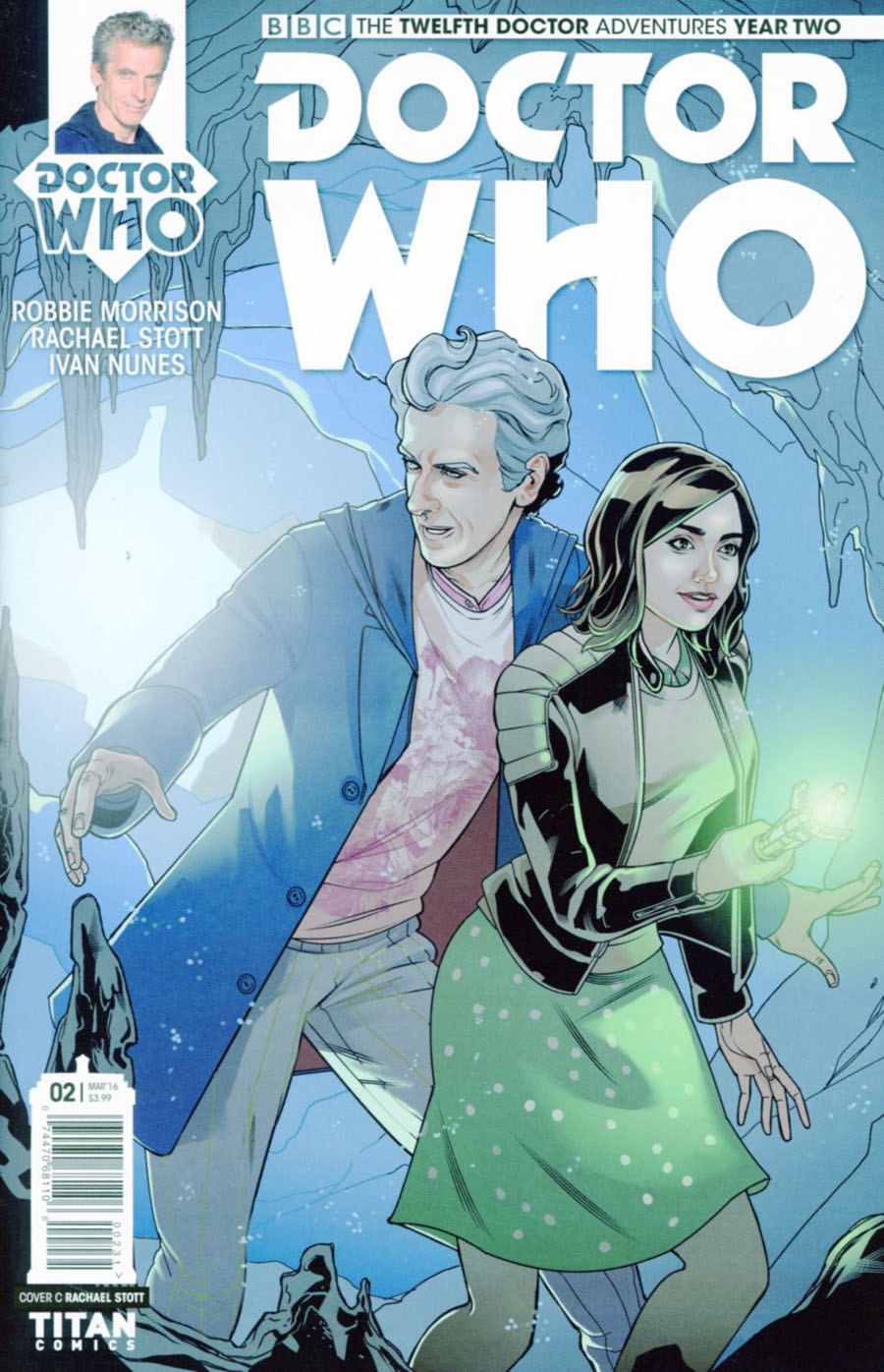 Doctor Who 12th Doctor Year Two #2 Cover D Variant Rachael Stott Cover